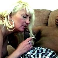 Interracial Granny Sex
