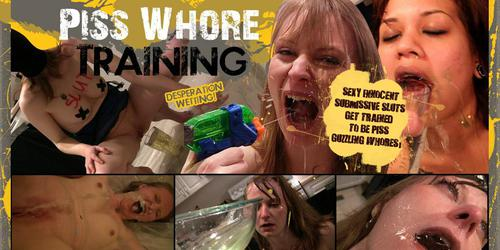 pisswhore training