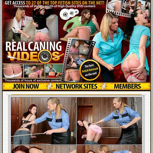 real caning videos